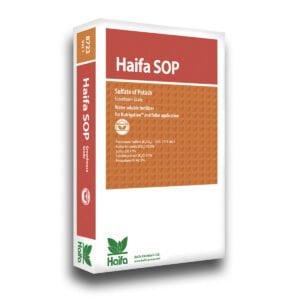 Моно удобрение Haifa SOP™ 0-0-51 + 45SO3 – сульфат калия