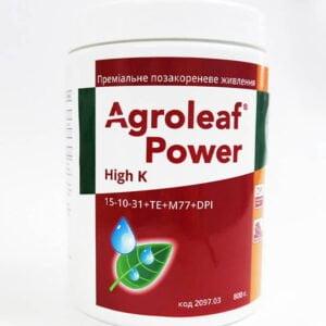 Минеральное удобрение Agroleaf Power High К (калийный) 15-10-31 + МЕ, 800 г