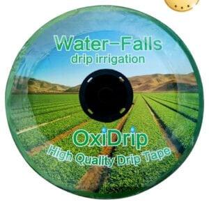 Капельная лента OxiDrip 8 mil, Эмиттерная, 2500 м 1,38 л/час, шаг 15 см